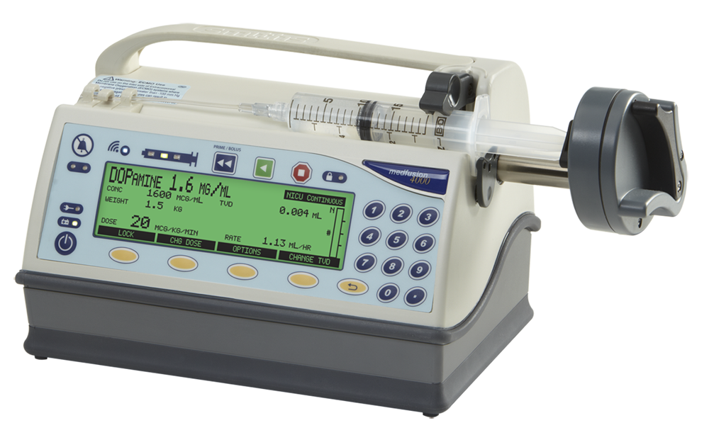 Medfusion 4000 Wireless Syringe Infusion Pump Infusion Smiths