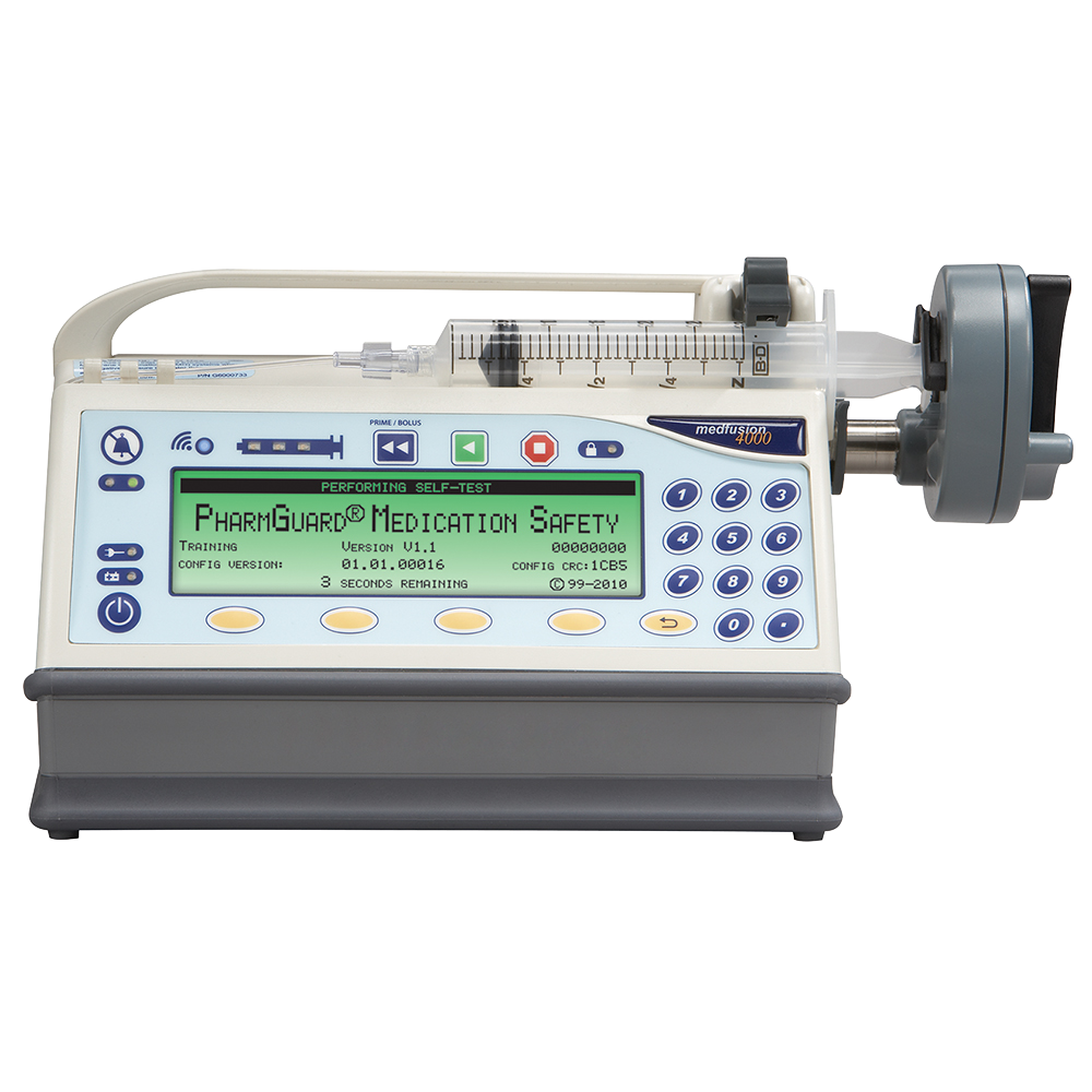 Medfusion® 4000 Wireless Syringe Infusion Pump, Infusion | Smiths